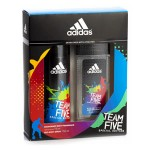 ADIDAS CASETA MEN AS 50 + DEO 150 TEAM FIVE ED