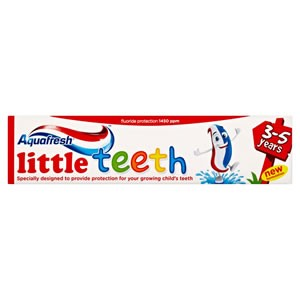 AQUAFRESH PASTA 50 ML KIDS LITTLE TEETH 3-5 ANI