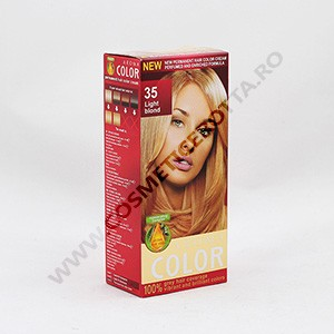 AROMA COLOR VOPSEA 45 ML 35 BLOND DESCH