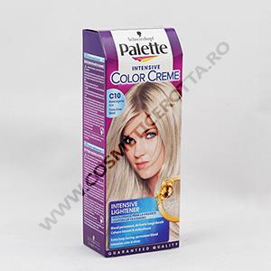 Palette Vopsea Par C 10 Blond Arctic Silver 110ml Cosmetice Rotta