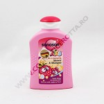 SANOSAN KIDS GEL DUS+SAMPON ZMEURA 200 ML