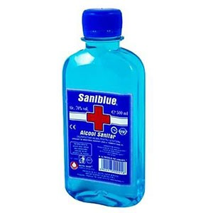 ALCOOL SANITAR 0.5 L -SANIBLUE/POTIGRAFU