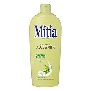 MITIA SAPUN LICHID 1L REZ ALOE+MILK
