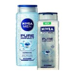 NIVEA DUS GEL 500 ML+250 ML PURE IMPACT MAN
