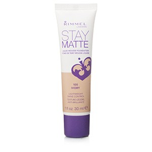 RIMMEL FOND DE TEN STAY MATTE 100 IVORY/30ML