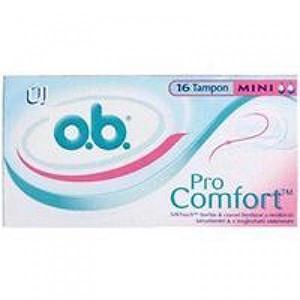 o.b. tampoane (16) mini pro confort