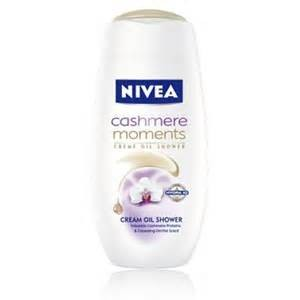 Nivea dus gel 750 ml cashmere moments