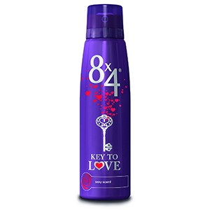 8x4 deo 150 ml key to love