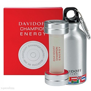Davidoff caseta champion energy man (edt50+drinking bottle)