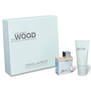 Dsquared2 caseta she wood crystal cre.w wom (ap50+b lot100)