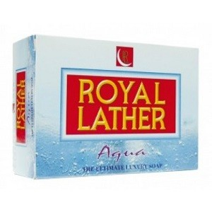 Royal lather sapun 150 g aqua