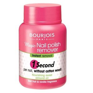 Bourjois magic nail polish remover 75 ml dizolv pt unghii 1 sec