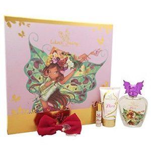 Winx fairy couture flora caseta (edt100+lot corp 75ml+hair clip)