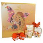 Winx fairy couture stella caseta (edt100+lot corp 75ml+hair clip)