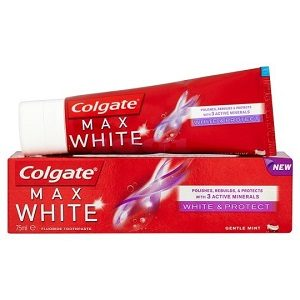 Colgate pasta max 75 ml white 3 minerale