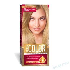 Aroma color vopsea 45 ml 38 blond straluc