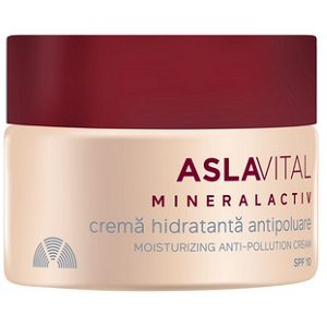 Aslavital crema 50 ml mineralact hidrat.antipoluare spf 10 153