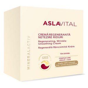 Aslavital crema 50 ml mineralact noapte netezire riduri