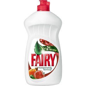 Fairy vase .450400 ml pomegranate+orange
