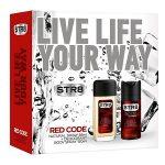 Str8 caseta (deo nat 85+deo 150) red code