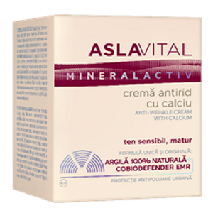 Aslavital crema 50 ml mineralact antirid cu ca+40